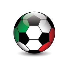 icona pallone calcio italia