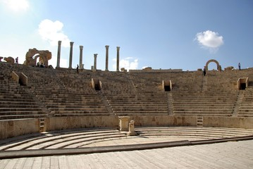 Theatre romain, Libye