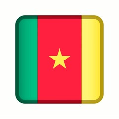 animation bouton drapeau cameroun