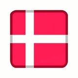 animation bouton drapeau danemark