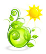 Solar green composition