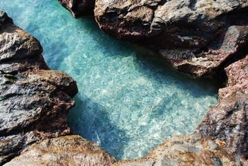 Rocas, erosión, mar