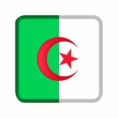 animation bouton drapeau algérie