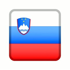 animation bouton drapeau slovénie