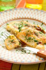 potato and kohlrabi gratin