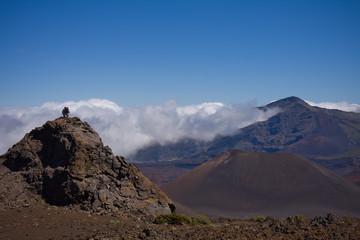 Hiking the Haleakala Crater