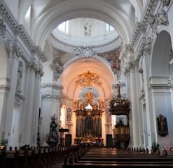 Innenraum Dom St. Salvator, Fulda