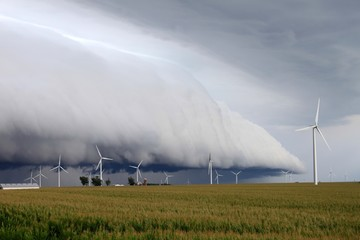 Shelf Cloud over northern Illinois