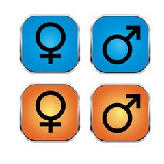 Männlich Weiblich Symbole