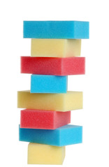 colorufl sponges