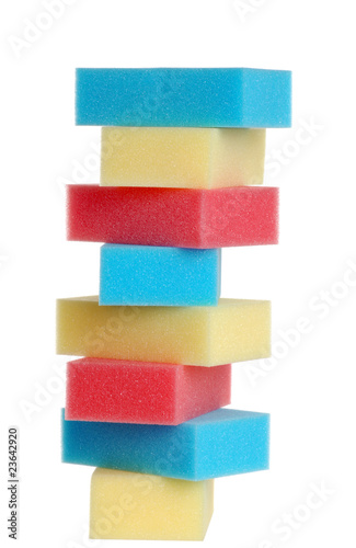 colorufl sponges