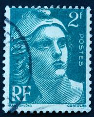 Timbre de 2 Francs