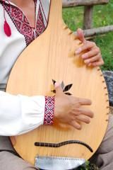 Украинский музыкальный инструмент кобза