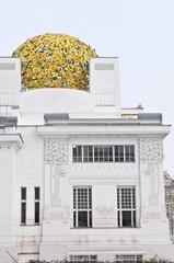 pavillon de la secession à Vienne