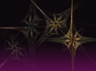 Abstract Fractal Background Design 014