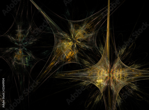 Abstract Fractal Background Design 015