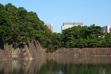 Wall of the Imperial Palace, Tokyo, Japan