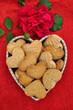 dolce messaggio d'amore - biscotti