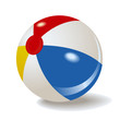 beach ball vector - 23656923