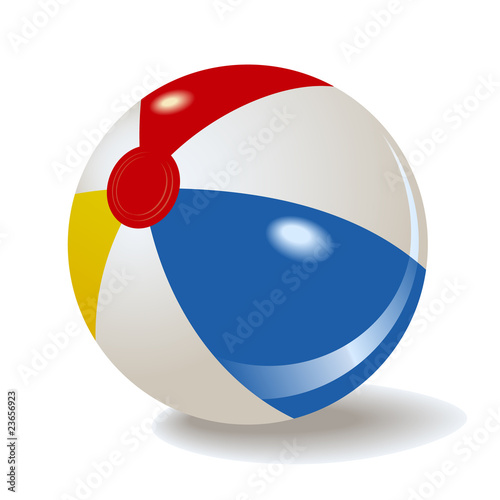 beach ball pictures. each ball vector