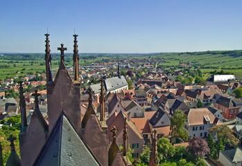 Der Weinort Oppenheim in Rheinhessen