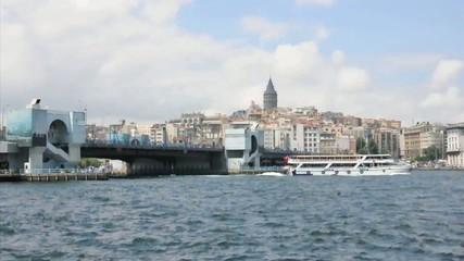 Galata Bridge and Galata Tower