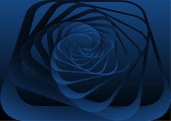 Spiral motion #7. Background.