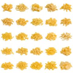 Pasta di grano duro, 25 formati