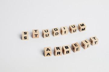 Studium - Arbeit