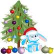 Santa-rabbit