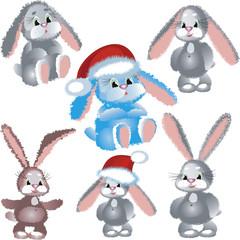 Set rabbits.