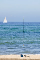 fishing seaside