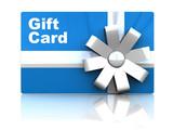 Fototapety gift card