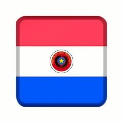 animation bouton drapeau paraguay