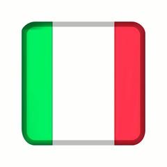 animation bouton drapeau italie