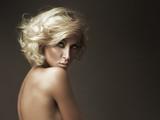 Beautiful portrait of blonde beauty