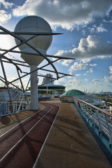 Detail of a Cruise Ship, April 2009