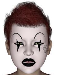 Halloween face mask
