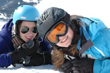 Winterporträt - Jugendliche -