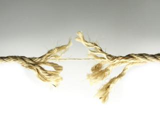 Cuerda estirada