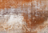 texture - facade of an old tuscan house poster
