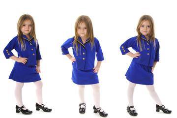 Business suit triplets