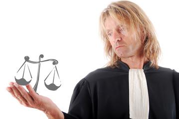 Justice - Symbolique Avocat et Balance