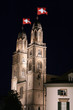 Zürich Schweizerfahne