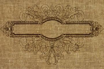 Vintage background - old fabric