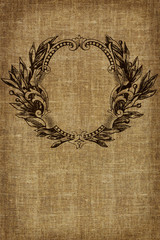 Vintage background - old fabric