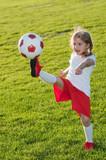 Fototapety Little soccer player