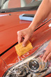 Car polish - a series of CAR CARE images.
