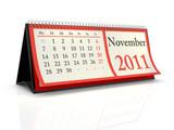 Tischkalender 2011 November poster