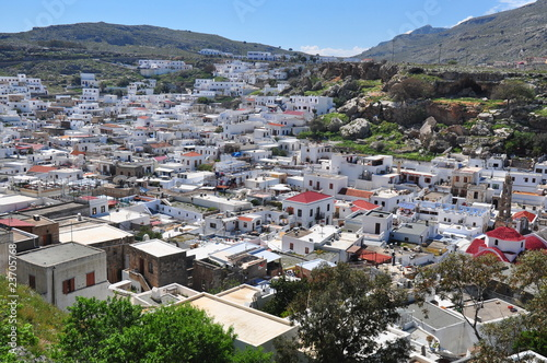 Lindos.The island of Rhodes.